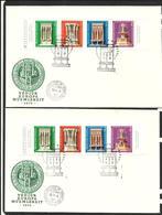 HUNGARY 1975 FDC Mi.no.3060-3063  A + B - FDC