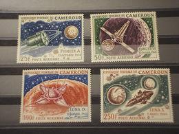 CAMEROUN - P.A. 1967 SPAZIO  4 VALORI - NUOVI(++) - Camerun (1960-...)