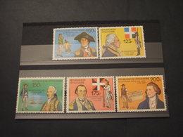 COTE D'IVOIRE - 1976 USA 5 VALORI - NUOVI(++) - Costa D'Avorio (1960-...)