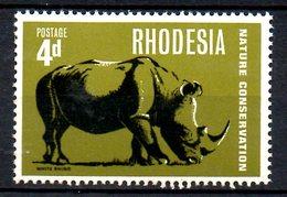 RHODESIE DU SUD. N°160 De 1967. Rhinocéros. - Rhinozerosse
