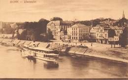 Allemagne - Bonn - Rheinufer - Bonn
