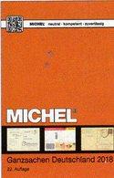 MICHEL Katalog 2018 Ganzsachen Deutschland New 98€ Deutsches Reich DDR SBZ Berlin BRD AM-Post OPD Saar Danzig Memel - Glossaries
