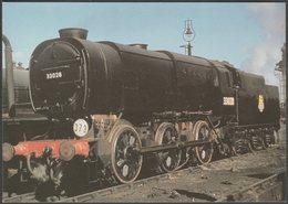 British Railways Bulleid 'Austerity' Class Q1 0-6-0 No 33028 - Loco 100 Postcard - Trains