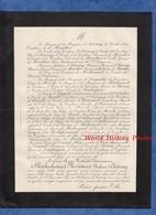 Document De 1887 - Château D' AVARAY ( Loir Et Cher ) - Anne Mathilde Victurnienne De ROCHECHOUART MORTEMART Duchesse - Historische Dokumente