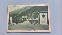 CARTOLINA SALUTI DA BRENNERO - CONFINE - Bolzano