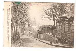 Montlhéry - Chemin De La Poterne Et Café Restaurant Des Ruines - Poste De Secours Du Touring Club De France 1909 - Montlhery