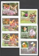 Z1430 2003 GUINE-BISSAU INSECTS BUTTERFLIES BORBOLETAS 4 LUX BL MNH - Schmetterlinge