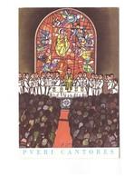 Religion Chorale Pueri Cantores Les Petits Chanteurs Illustration Illustrateur De Luca - Christianisme