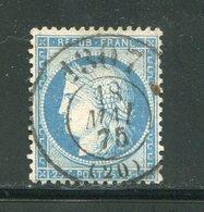 Y&T N°60A Bureau De Passe 1307 - 1871-1875 Ceres