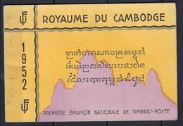 Cambodge, BF N° 1 à 3 ** En Carnet TB, état Parfait , 1952 - Cambodge