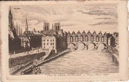 VIEUX PARIS 1695 Vue Du Pont St Michel 47G - Arrondissement: 03
