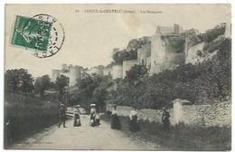 02 Coucy Le Château - Les Remparts - Autres Communes