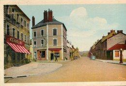 LE CREUSOT - Quatre Chemins Rue Edith Cavell L'enseigne Kervoline - Le Creusot