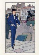 Cartolina MORNING OUTFIT 1913, Drawn By Bernard Boutet De Monvel - PERFETTA HCP-20 - Moda