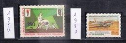 MADAGASCAR - REPUBLIQUE MALGACHE - 1977, 1979, 1980 Et 1987 - Petit Lot De Timbres Dentelé De L'année 77, 79, 80 Et 87 - Madagascar (1960-...)
