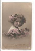 Portrait - Enfant Avec De Beau Cheveux - Portraits