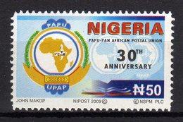 Nigeria 2009 30th Anniversary PAPU Pan African Postal Union - Correo Postal