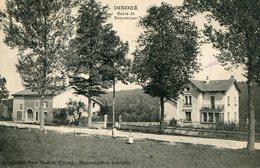 """CPA """"DINOZE""""Route De Remiremont - France"""