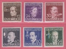 1936  ** (sans Charn., MNH, Postfrish)  Yv  489/94Mi  632/7ANK 632/7 - Ungebraucht