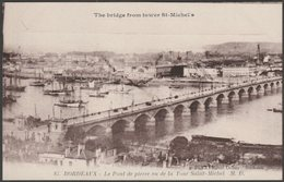 Le Pont De Pierre, Bordeaux, Gironde, C.1910 - Marcel Delboy CPA - Bordeaux