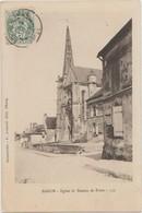 CPA 60 BARON Eglise Et Bureau De Poste 1907 - France