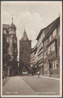 Rose Mit Johannistor, Jena Im Thüringen, C.1930 - Weber Foto AK - Jena