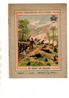 COUVERTURE CAHIER - MILITARIA - ANECDOTES MILITAIRES - EN AVANT LES ZOUAVES EN 1870 - Book Covers