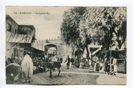 La Grande-Rue - Kairouan - Tunesië