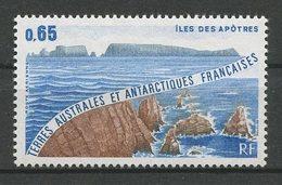 TAAF 1982 PA N° 73 ** Neuf MNH Superbe Cote 0,80 € Paysages Landscapes Crozet Iles Des Apôtres - Poste Aérienne