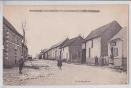 Vue De PIERREGOT (Somme) - Route D'Amiens - Censure Anglaise 1918 - Autres Communes