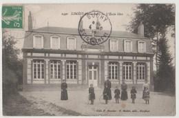 CPA 76 LIMESY L' Ecole Libre - France