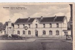Zaventem Station En Heldenplein Gare Et Place Des Héros - Zaventem