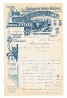 Lettre à Entête - Fromagerie Isidore LEFEBVRE à NESLE - HOUDENG/ Saint-Saire 1955, Alimentation, Fromage (fr58) - France