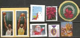 USA 2014 Eight Different Stamps - Etats-Unis