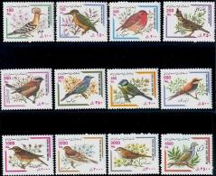 BIRDS-SPARROWS AND SONG BIRDS-DEFINITIVES OF IRAN-LARGE SET -IRAN-2001-SCARCE-MNH-B9-707 - Climbing Birds