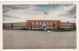 Wyoming Rock Springs High School Curteich
