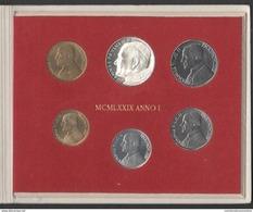 Vaticano Serie 1979 Giovanni Paolo II Anno I Divisionale Vatikan State - Vaticano