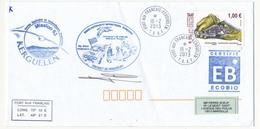 T.A.A.F - Enveloppe Port Aux Français Kerguelen - 18/2/2013 - Mission 63... Arnaud Le Meur, Gérant Postal - French Southern And Antarctic Territories (TAAF)