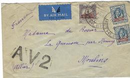 Palestine De Bethlehem Aout 1950 Pour Moulin Avec Griffe AV2, RARE - Palestine