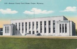 Wyoming Casper Natrona County Court House 1956