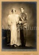 Large REAL Photo / ROYALTY / Belgique / Roi Leopold III / Koning Leopold III / Reine Astrid / Koningin Astrid / Marchand - Célébrités
