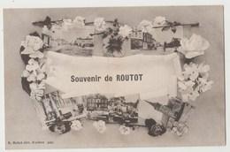 CPA SOUVENIR DE ROUTOT - Routot