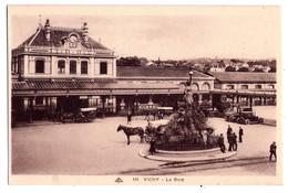 0777 - Vichy ( Allier ) - La Gare - L'Alsacienne Des Arts Photomécaniques -  N°141 - - Vichy