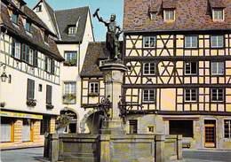 68 - Colmar - La Fontaine De Schwendi (Sculpteur : Bartholdi) - Colmar