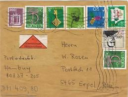 27916. Frontal Paquet HAMBURG (Alemania Federal) 1982. Nachnahme. Envio Dinero, Label - [7] República Federal