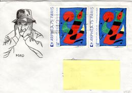 F+ Frankreich 1974 Mi 1885 Juan Miro (UNIKAT / ÙNICO / PIÉCE UNIQUE) - France