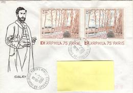 F+ Frankreich 1974 Mi 1893 Alfred Sisley (UNIKAT / ÙNICO / PIÉCE UNIQUE) - France