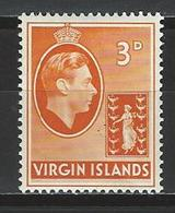 Virgin Islands SG 115, Mi 77  * MH Chalk Surfaced Paper - Britse Maagdeneilanden