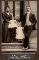 Gd CDV Allemagne - Oma Frieda Söding Et Sa Famille, Mari & Enfants Le 13 Juillet 1909 - Personnes Identifiées