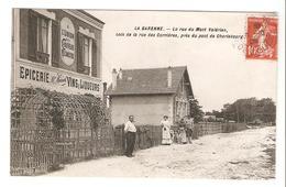 La Garenne - La Rue Du Mont Valérien Coin De La Rue Des Carrières Près Du Pont De Charlebourg 1909 - La Garenne Colombes